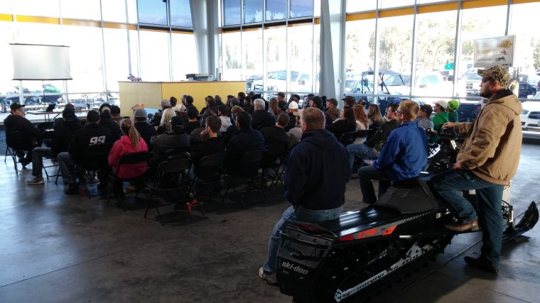 Club hosts open house at Action Motor Sports